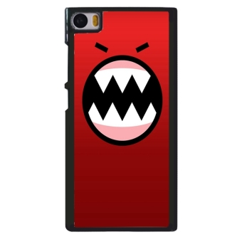 Happy Funny Expression Pattern Phone Case for Xiaomi Mi Note (Red)