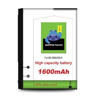 Harga Hippo Battery Blackberry 9800 – 1600mAh