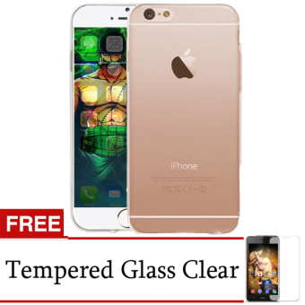 Harga Accessories Hp Ultrathin Aircaseor Iphone 6s Clear + Gratis Tempered Glass