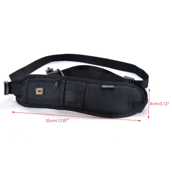 Harga Jo.In Black Professional Rapid Camera Single Shoulder Sling Belt Strap for Nikon Canon DSLR SLR