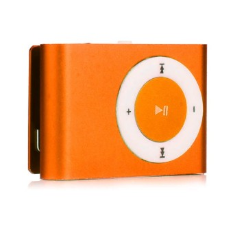 Harga Newtech Mp3 Mini Player - Orange