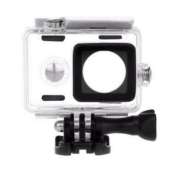 Harga KingMa Original Waterproof Case / Housing Underwater for Xiaomi Yi Action Camera - Putih