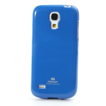 Harga Mercury Goospery Jelly Glittercase for Samsung Galaxy S4 Mini Case - Biru