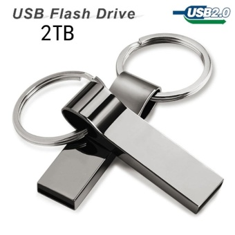 ... BUYGO hot sale new usb flash drive 2TB pen drive pendrive waterproof metal silver u disk