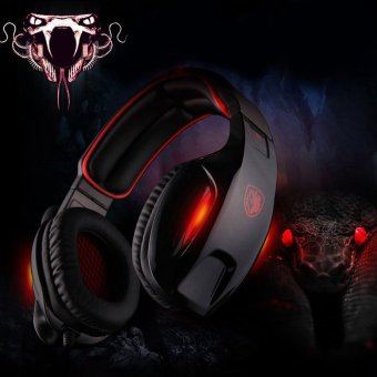 Harga Sades SA - 902 7.1 Surround Sound USB Gaming Headset with Mic Volume Control - intl