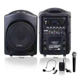 Harga Krezt Portable Sound System WAS-06D (Ada DVD Player-nya)