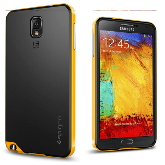 Harga Note3 Cover Case for Samsung Galaxy note 3 N9000 Cell Phone Cases For note3 III Back shell(Yellow) - intl