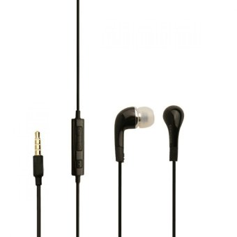 Harga 888 ACC Earphone / Headset / Handsfree Stereo for Samsung S4 / I9220 With Control Talk - Hitam