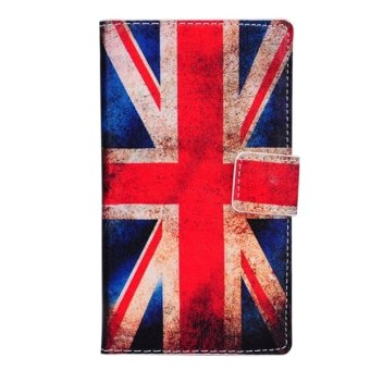 Harga PU Flip Leather Cover with Card Slots and Wallet and Holder for Nokia Lumia 925 (Multicolor) - intl