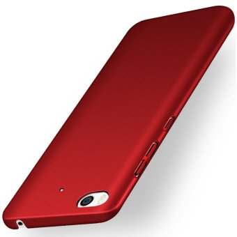 Baby Skin Hard Plastic Back Cover Case For Xiaomi MI5S M5S PLUS with HDScreen Protector -