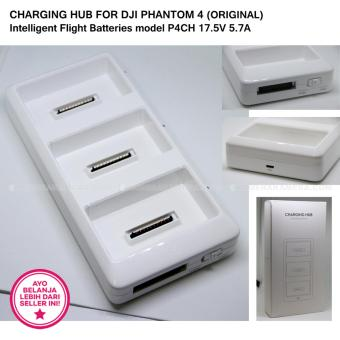 Harga CHARGING HUB FOR DJI PHANTOM 4 (ORIGINAL) Intelligent Flight Batteries model P4CH 17.5V 5.7A