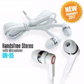 Harga lanjar jaya new Headsfree stereo Sound Only Excellent Sound Quality With Mic -un-05(random)