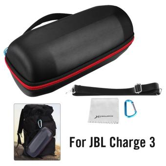Harga XCSOURCE Hard Storage Carry Case w/ Belt for JBL Charge3 Wireless Bluetooth Speaker