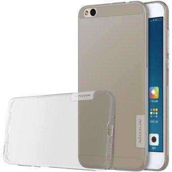 Nillkin for Xiaomi mi 5c silicone case Fashion Clear cover Ultra thin TPU Soft Case for