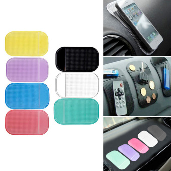 Harga Phone Holder Car Magic Anti-Slip Dashboard Sticky Pad (Blue)