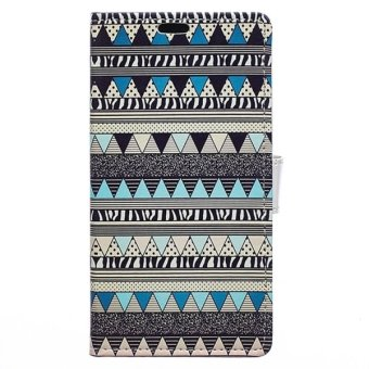 Harga Aztec Tribal Pattern Horizontal Flip Leather Cover with Card Slots and Wallet and Holder for Sony Xperia C4 (Multicolor) - intl