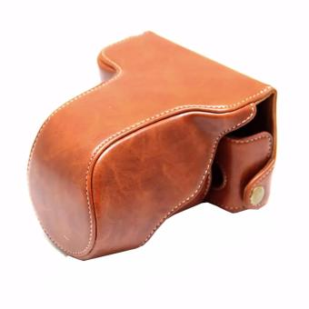 Harga Rajawali Leather Case For Fujifilm X-A3 - Coklat/Brown