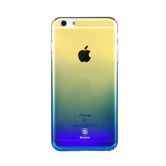 Harga Baseus Glaze Case iPhone 6 Plus / iPhone 6s Plus Blue