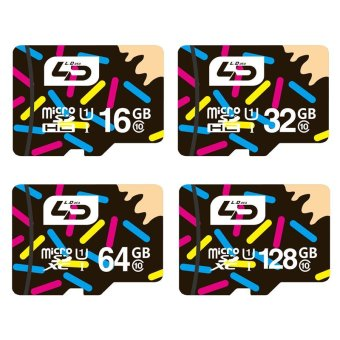 Harga Original LD Micro SD Card 32GB Class 10 8GB/16GB/64GB Class10 UHS-1 Memory Card Flash Memory - intl
