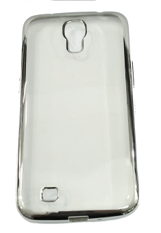 Harga Softcase Samsung Galaxy S4 List Chrome - Silver