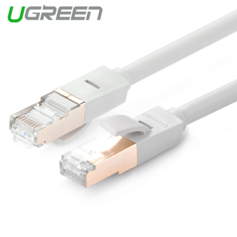 Harga UGREEN 10M RJ45 Ethernet Lan Network Cable for Cat 5e / Cat 6 / Cat 6a (Grey)