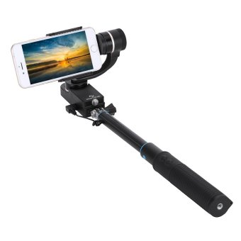 Harga (IMPORT) Feiyu 2-axe Handheld Steady Stabilizer Gimbal Selfie For Smartphones with Smartphones iPhone Samsung Xiaomi 5.5?~ 8?cm wide + A Pen Cleaner