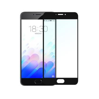 Harga Full Cover Screen Protectors 9H Super Hardness HD Toughened Tempered Glass for Meizu Meilan Note 3 - Black - - intl