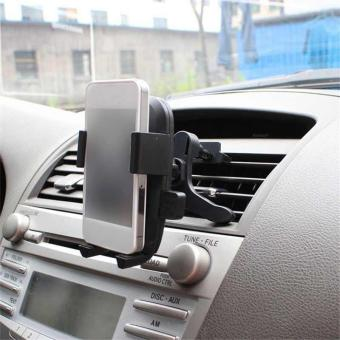 Harga YBC Car Air Vent Mount Phone Holder 360 Degree Bracket Hands Stand for Phone - intl