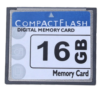 Harga niceEshop Professional 16GB Compact Flash Memory Card(White/Blue)