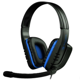 Harga Sades SA-711 Chooper Gaming Headset - Biru
