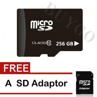Harga 128GB,256GB,512GB Sufficient Memory Card Micro SD Flash Class 10 Memory Card - intl