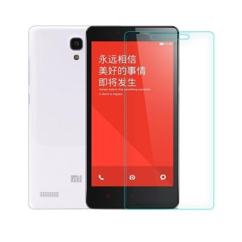 Harga Xiaomi Xiaomi Xiomi Redmi Note 1 / 4G Tempered Glass Screen Protector 0.32mm - Anti Crash Film - Bening