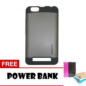 Harga Case Lenovo Vibe C Slim Armor - Abu + Power Bank