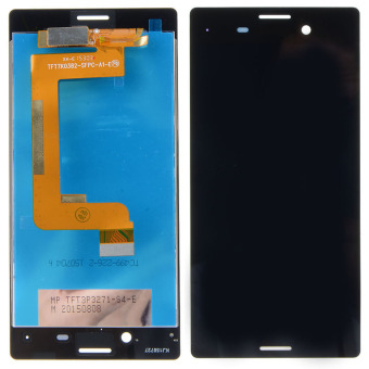 LCD Display Touch Screen Digitizer Assembly Black For Sony Xperia M4(Black)