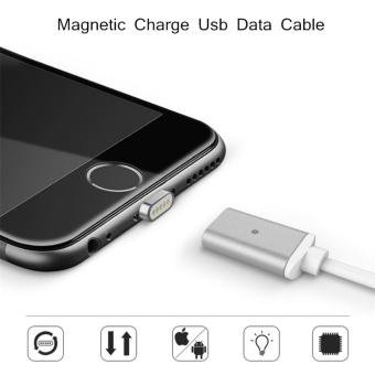 Harga 1M Adsorption Magnetic Lightning USB Data Cable,fast charge USB Cable. Suitable for iPhone 5/5s, iPhone 6/6s, iPhone 6 Plus/ 6sPlus, iPad Air iPad mini iPad 5. - intl