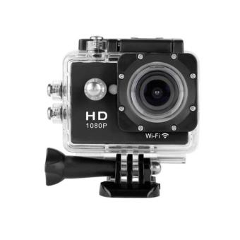 Harga Sport cam - HD sport 1080p Built in wifi - 12mp - hitam