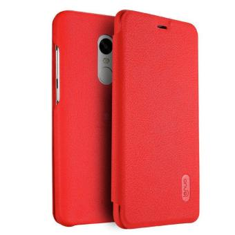 Harga LENUO Ultra Thin Flip Cover Case Soft Leather Cell Phone Cases For Xiaomi Redmi Note 4 - intl