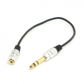"""Stereo Female 1/8"""" 3.5mm Jack to Male 1/4"""" 6.35"""