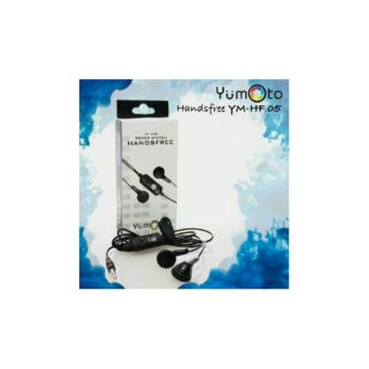Harga Yumoto HF-05 Handsfree Excellent Sound Quality Power Stereo With Mic-hitam