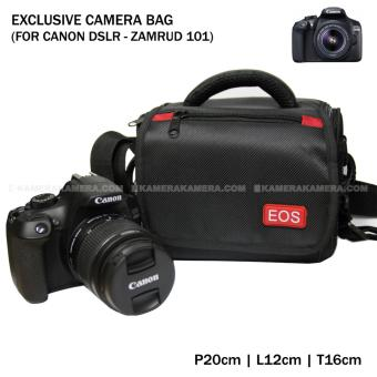 Harga Camera Bag - Zamrud 101 for Canon DSLR, EOS 100D, EOS 700D, EOS 750D, EOS 1200D, EOS 1300D, Etc