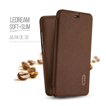 Harga Lenuo Flip PU Leather Phone Case For Xiaomi Redmi Note 3 Pro Special Edition 152mm - intl