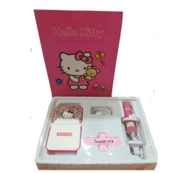 Harga Santana Power Bank Hello Kitty set - Pink
