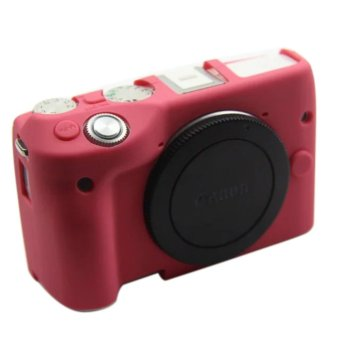 Harga Nice Soft Camera bag Silicone Case Rubber Camera Protective Body Cover Case Skin For Canon EOS M3 EOSM3 EOSM 3 Camera Bag - intl