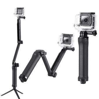 Harga Monopod 3-Way Grip-Arm-Tripod for Action Camera