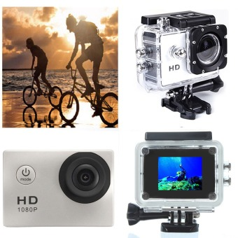 Harga SJ4000 5MP Sports Camera Waterproof Helmet DV HD 720P Car Bike Action Cam