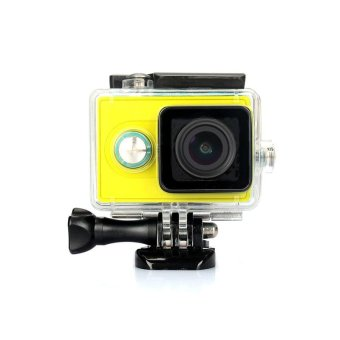 Harga KINGMA 45m Underwater Waterproof Housing Case for Xiaomi Yi Action Camera - Black - intl