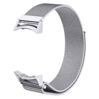 Harga Samsung Gear S2 RM-720 Watch Band, Milanese Magnetic Loop Stainless Steel Watch Strap with Connector Metal Adapter for Samsung Galaxy Gear S2 Smart Watch - intl