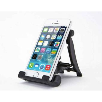 Harga Lucky - Multi Stand Holder - Dudukan Hp - Universal For Smartphone Android Tablet Pc Ipad Iphone - Other - Black