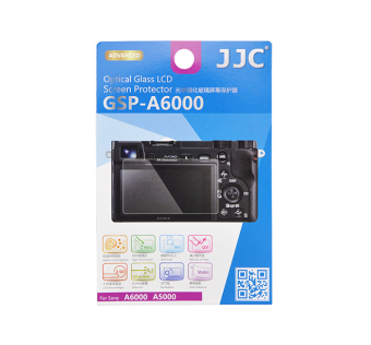 Harga JJC GSP-A6000 Tempered Toughened Optical Glass Camera Screen Protector 9H Hardness Anti-Bubble Anti-scratch Anti-burst Anti-fingerprint Ultra-thin Super Light Transmittance For Sony A6000 Digital Camera - intl