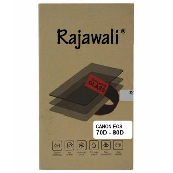 Harga Rajawali Tempered Glass / Screen Protector For Canon EOS 70D/80D